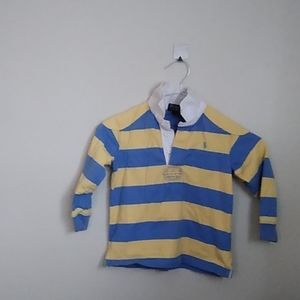 Long sleve polo pull over